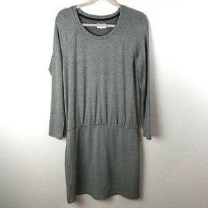 Lou & Grey Super Soft Grey Dress M EUC